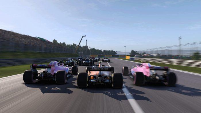 скрин игры гонки