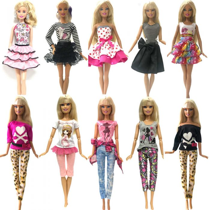 Барби с одинаковыми лицами