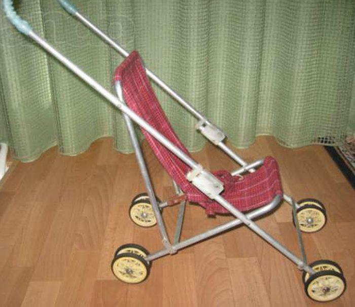 кукольная коляска советская