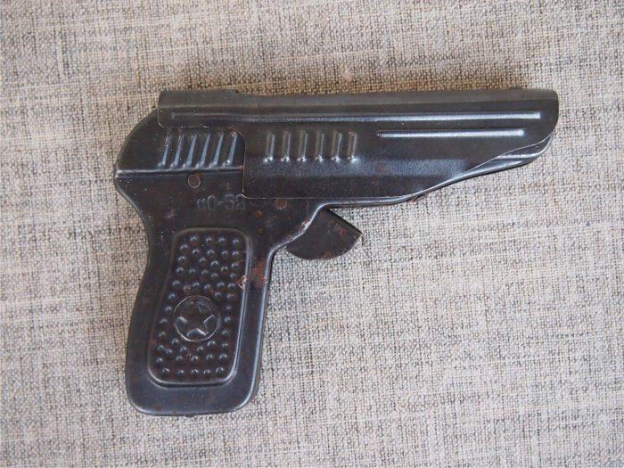пистолет игрушечный металлический