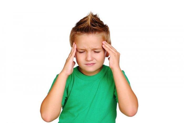 Боль в голове у ребёнка