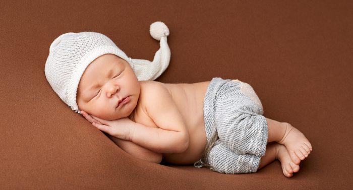 фотосессия новорождённого