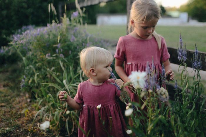 детская одежда лен