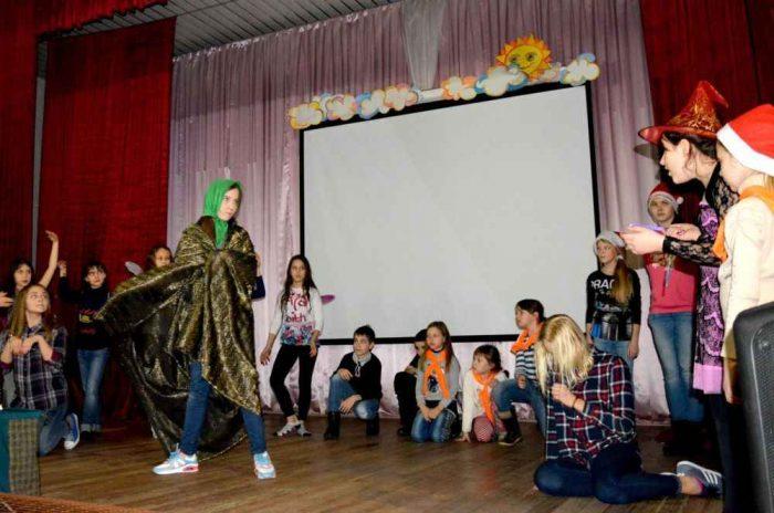 Театральная постановка в лагере