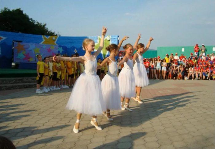 Танцевальный детский лагерь