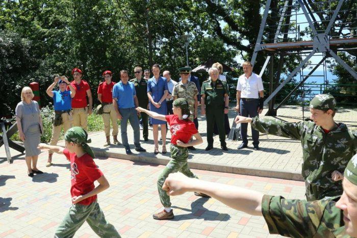 Военно-патриотический детский лагерь