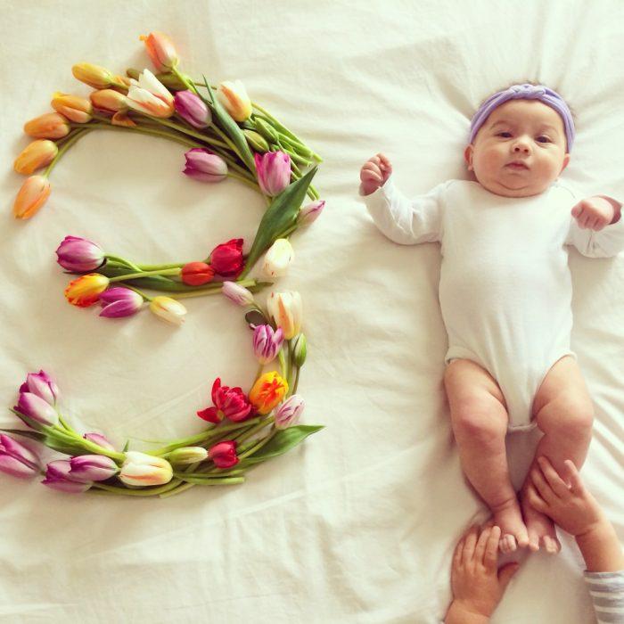 девочке 3 месяца