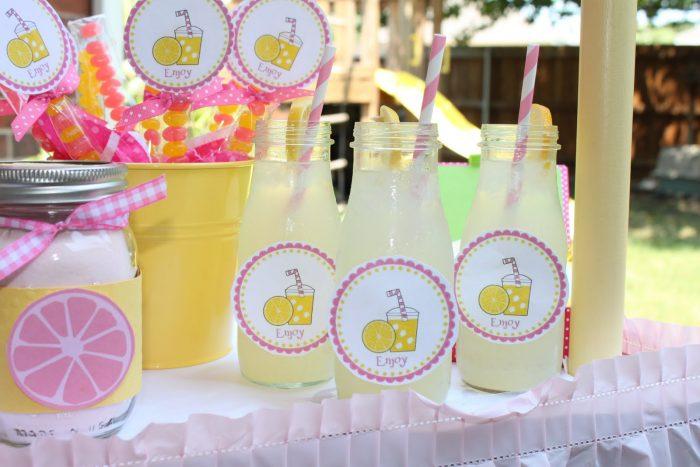 лимонад в кэндибаре