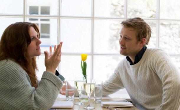 Диалог между мужчиной и женщиной
