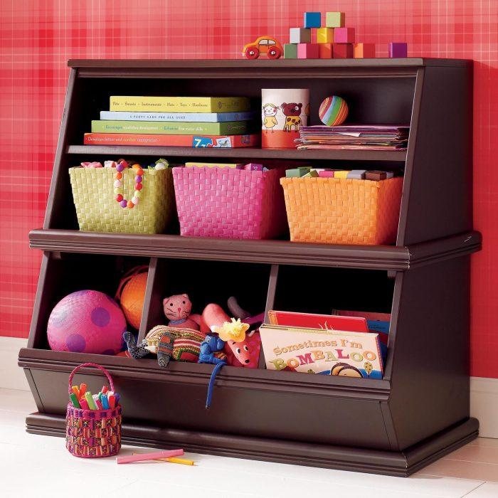 шкаф-горка для игрушек