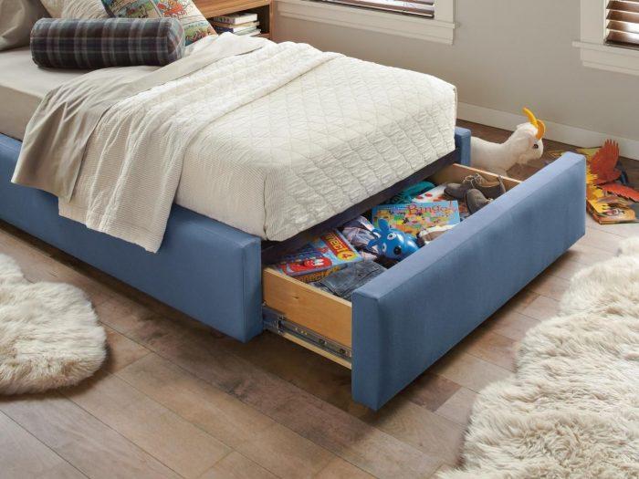 ящик для игрушек под кроватью