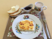 завтрак в детском саду с омлетом