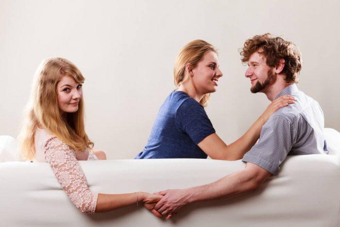 Муж, жена и любовница