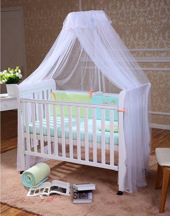 кроватка с навесом