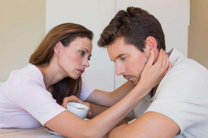Моральная поддержка супруга