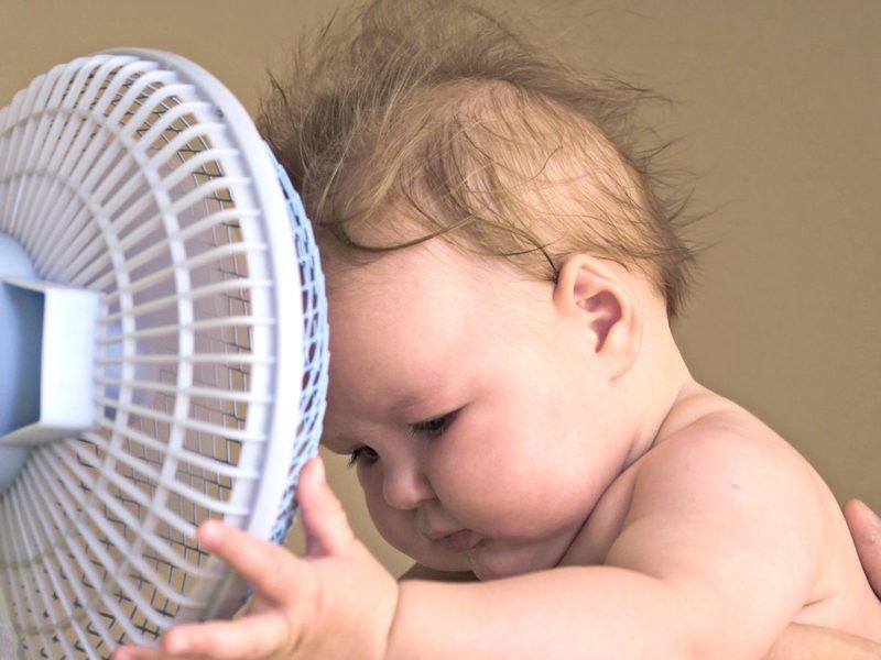 Вентилятор в детской: ставить и готовиться к ангине?