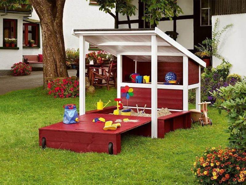 Детская площадка своими руками для дачи или двора: подборка функциональных и симпатичных идей