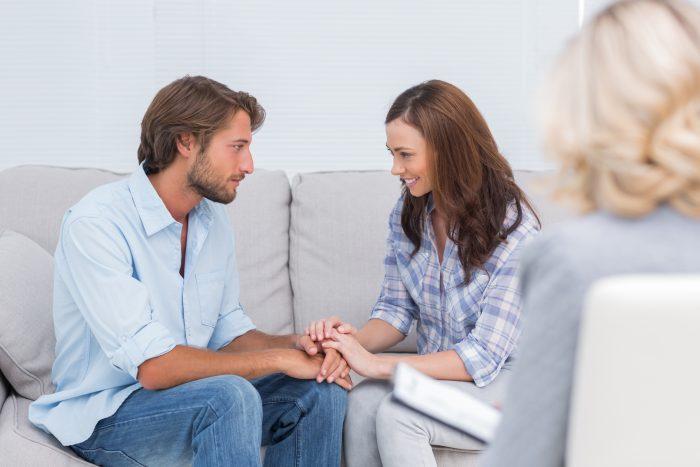 Супруги у психолога