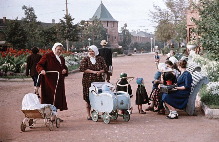 советские детские коляски