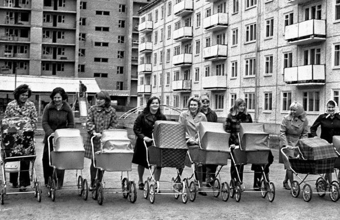 советские детские коляски 2