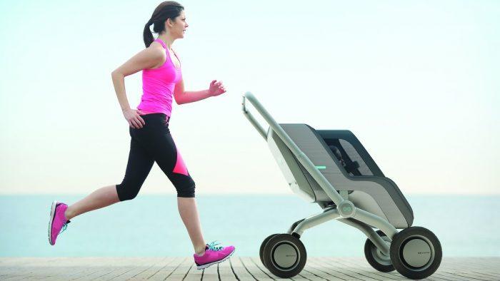 современная детская коляска 4