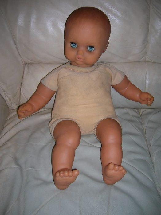 Кукла с тряпичным туловищем