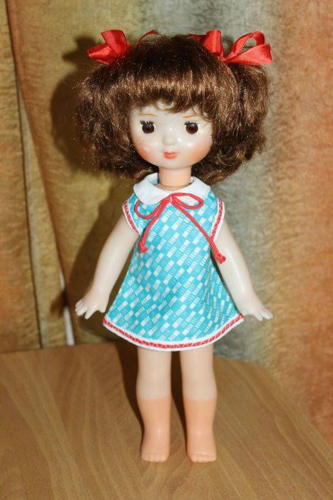 Кукла Таня Загорской фабрики игрушек (Московская область)