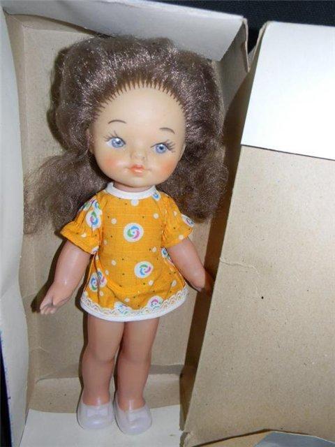 Кукла Таня Днепропетровского завода игрушек