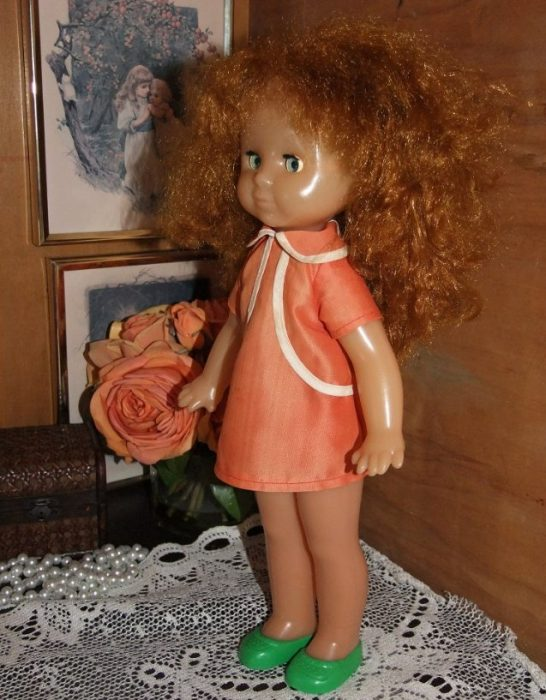 Кукла Таня Донецкой фабрики игрушек