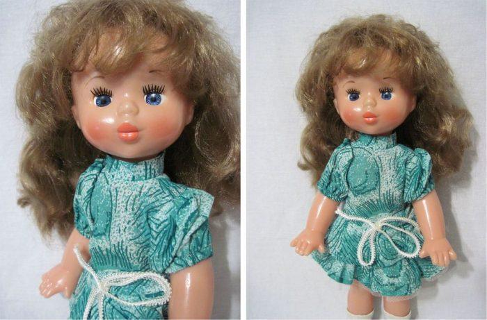 Кукла Таня Ленинградского производственного объединения «Игрушка»