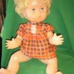 Кукла Наташа с короткими волосами