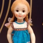 Кукла Наташа с двумя косичками