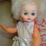 Кукла Наташа Горьковской фабрики игрушек «Мир»