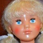 Кукла Наташа Днепропетровского завода игрушек