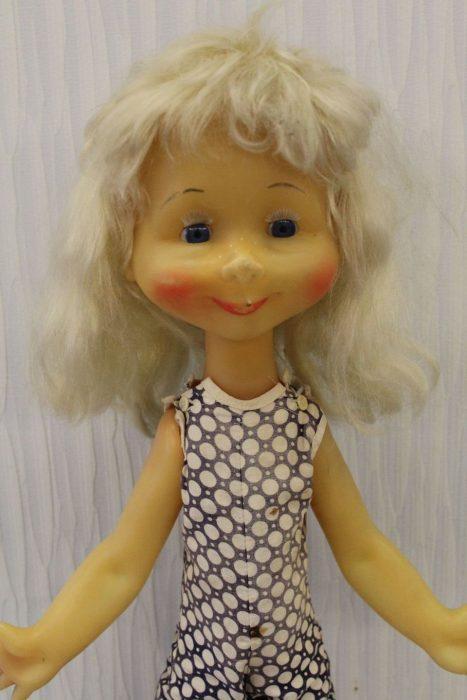 Редкая кукла Наташа Московского завода игрушек «Кругозор»