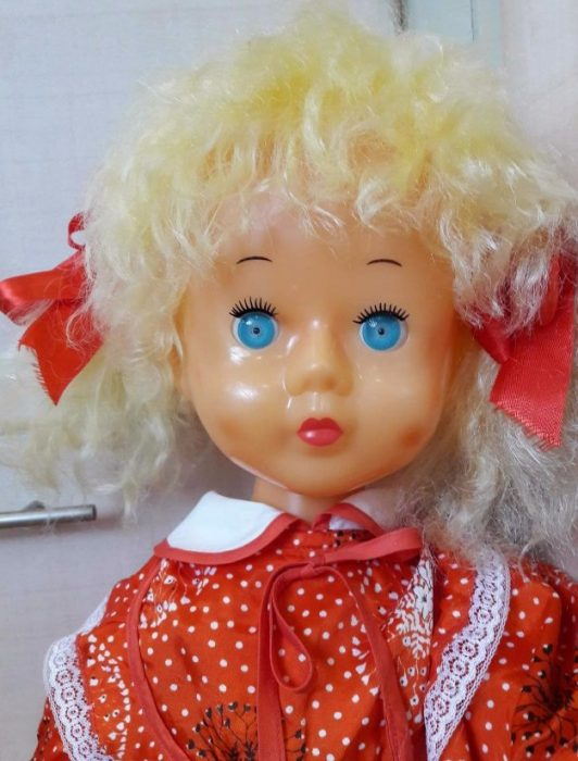 Кукла Нина Московского завода игрушек «Кругозор»