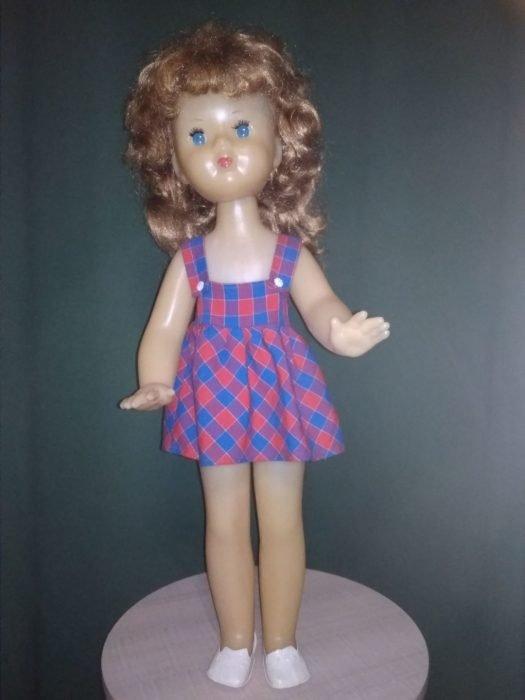 Кукла Нина Новосибирской фабрики «Пионер»