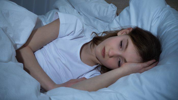 Подросток не может заснуть