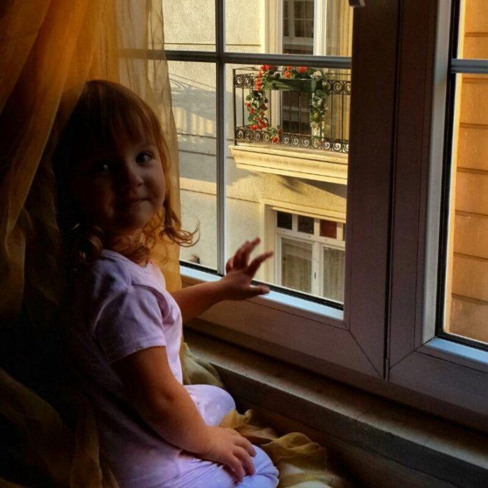 раннее утро в окне