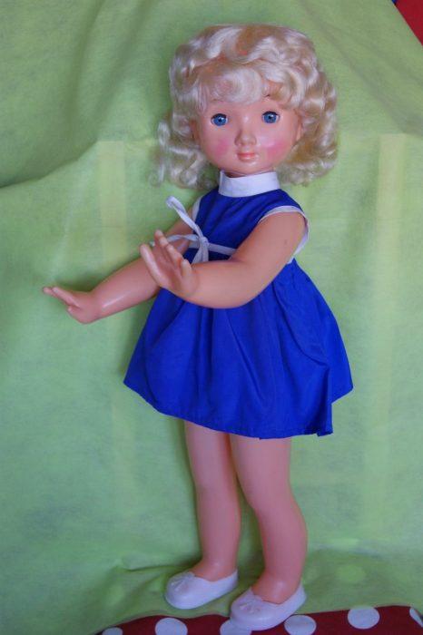 Кукла Лика Московской фабрики сувенирных и подарочных игрушек