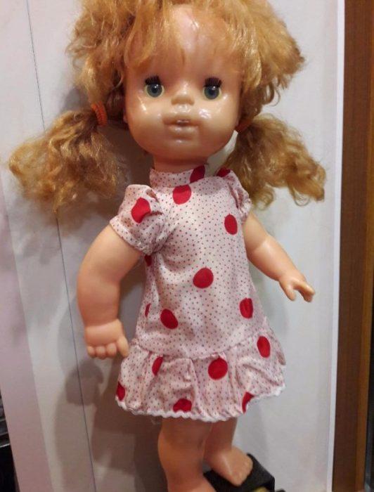 Кукла Лика Киевской фабрики игрушек «Победа»