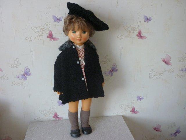 Кукла Лика Московской фабрики сувенирных и подарочных игрушек в верхней одежде