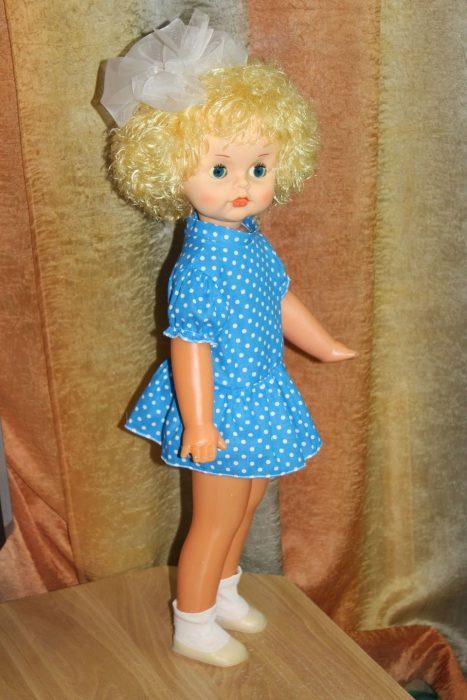 Кукла Люда в одежде