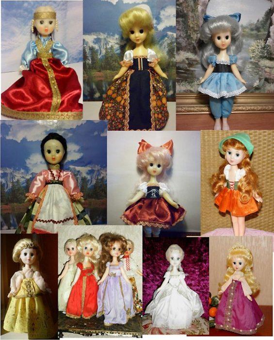 Набор куколок Ивановской фабрики игрушек