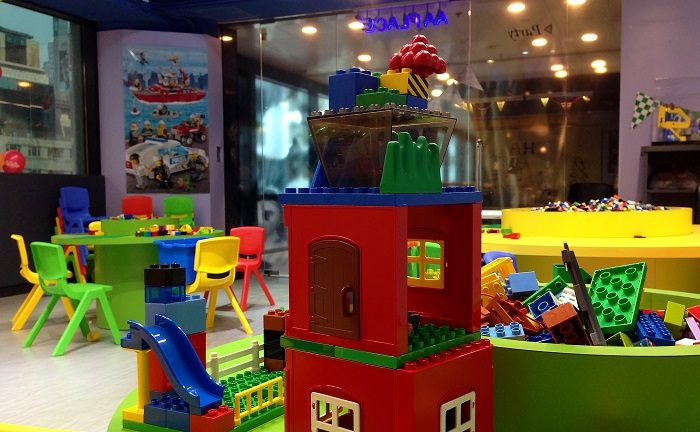 Детская игровая Лего комната