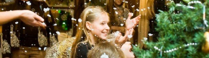 Новогодние развлечения – важная часть зимнего праздника, особенно когда в компании есть дети.
