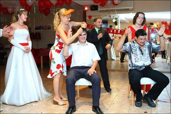 Конкурсы на свадьбе