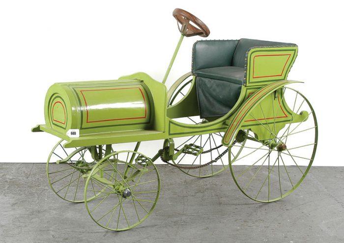 французский педальный автомобиль 1905 года