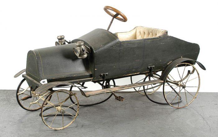 педальный автомобиль Thistle