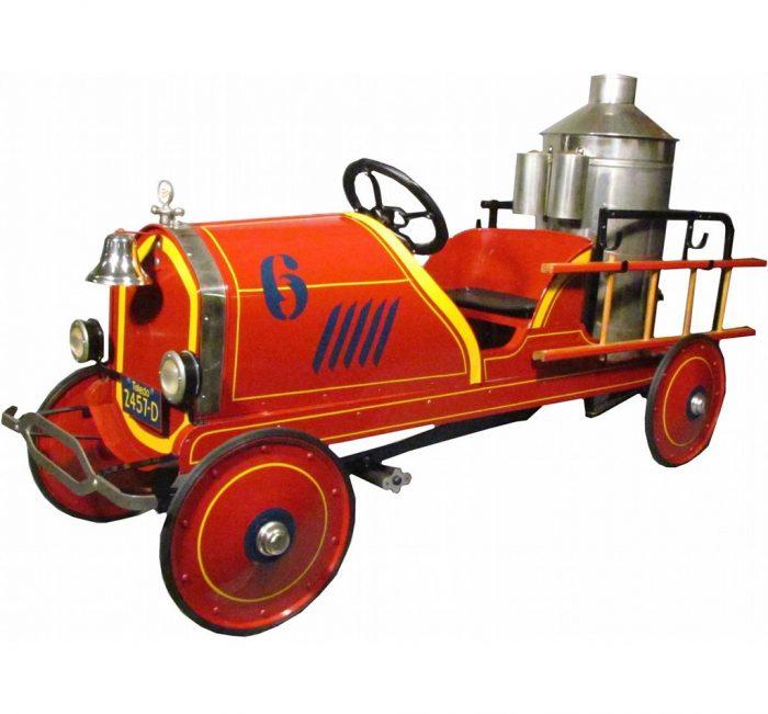 педальный пожарный грузовик Toledo